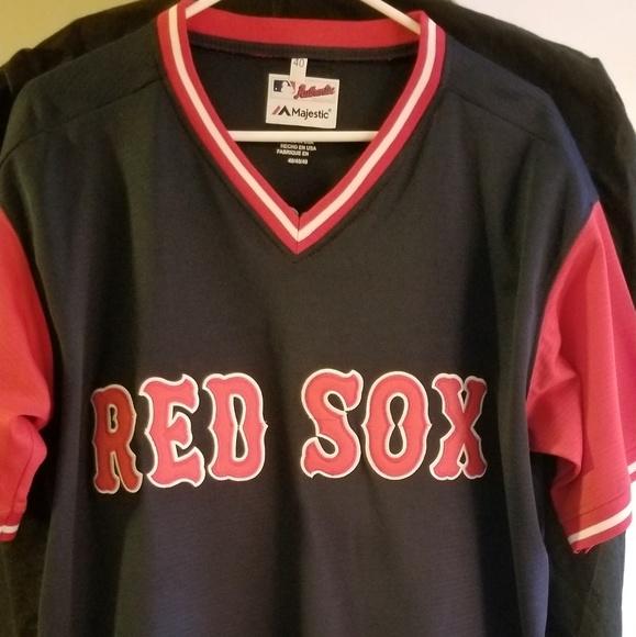 b4ba80cc8 Boston Red Sox Players Weekend Jersey #15. NWT. Majestic.  M_5b75b0378ad2f97342f2ee9e. M_5b75b044aa8770f0b6a002c8